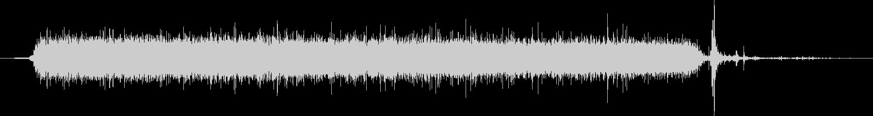 水 タップフローウルトラハードロング04の未再生の波形