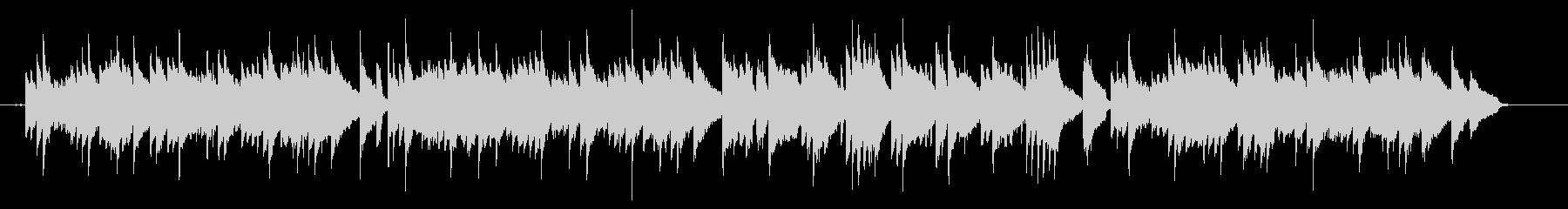 ピアノ主体の少し和風なヒーリング曲の未再生の波形