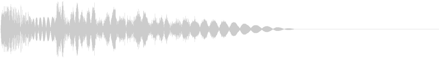 ズバッ(攻撃音・打撃音・パンチ)の未再生の波形