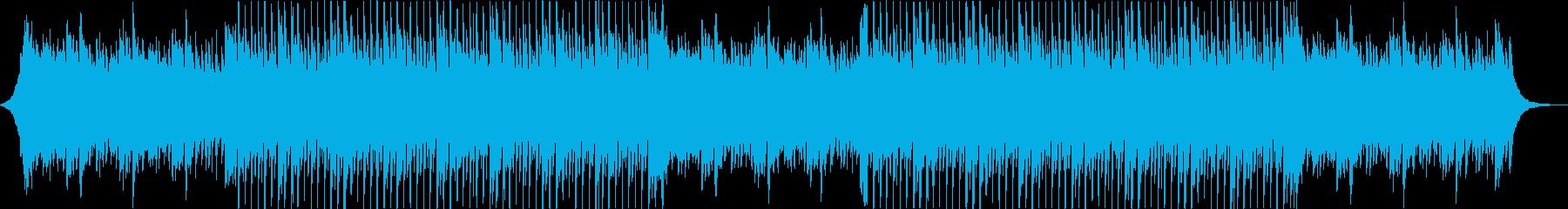 温かい・優しい・安心・テクノポップの再生済みの波形