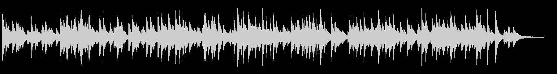 心地よいテンポのジャズラウンジピアノソロの未再生の波形