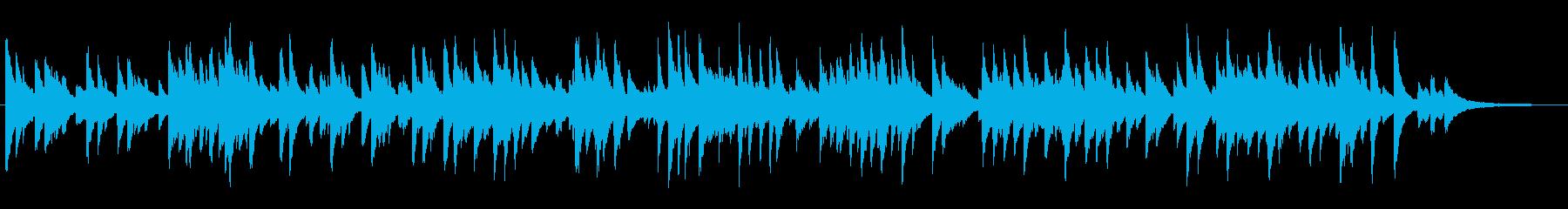 心地よいテンポのジャズラウンジピアノソロの再生済みの波形