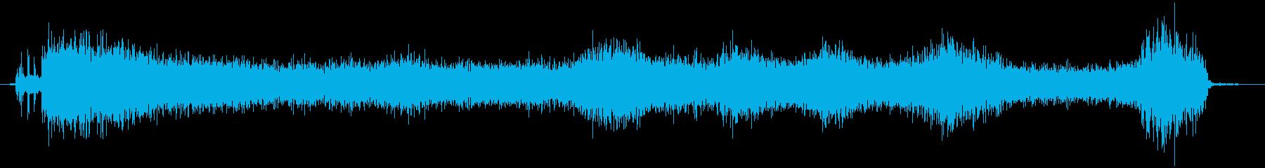 スプレー 噴射の再生済みの波形