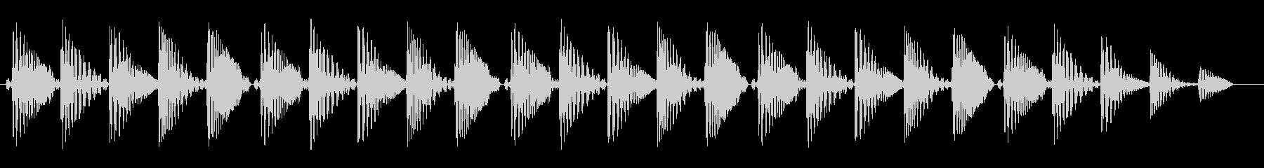 プワプワプワ(飛行機)の未再生の波形