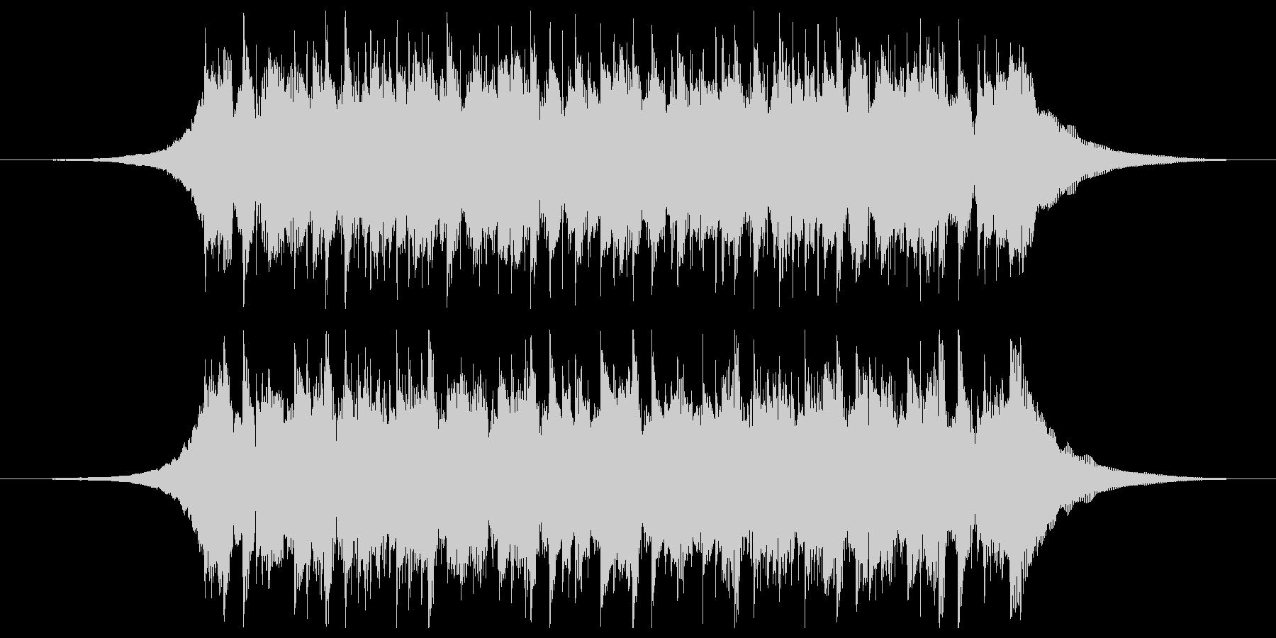 構築(ショート3)の未再生の波形
