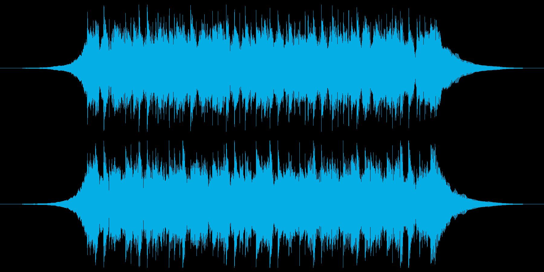 構築(ショート3)の再生済みの波形