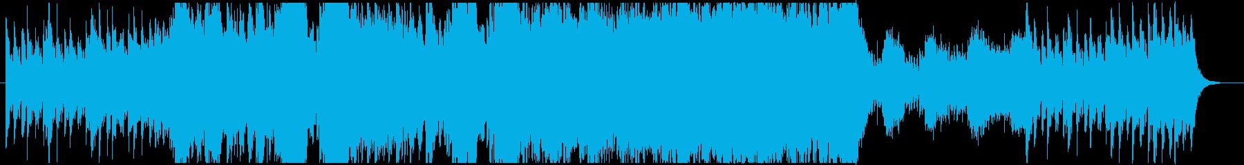 ファンタジーで爽快なフィールド音楽の再生済みの波形
