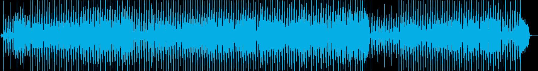 トランペットが奏でる軽快なBGMの再生済みの波形