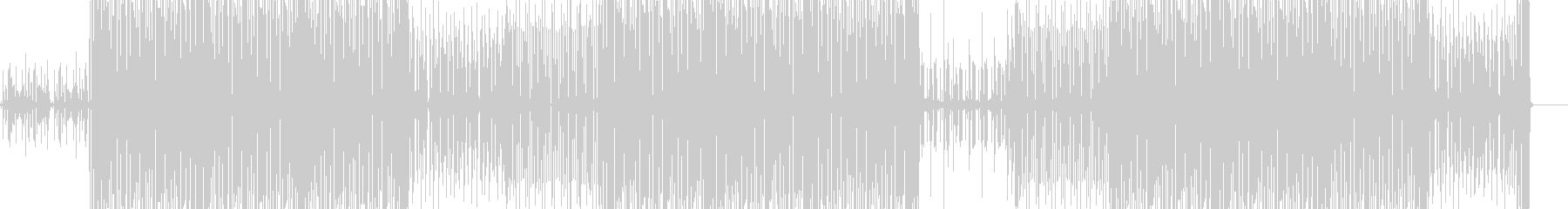 House music / Vogueの未再生の波形