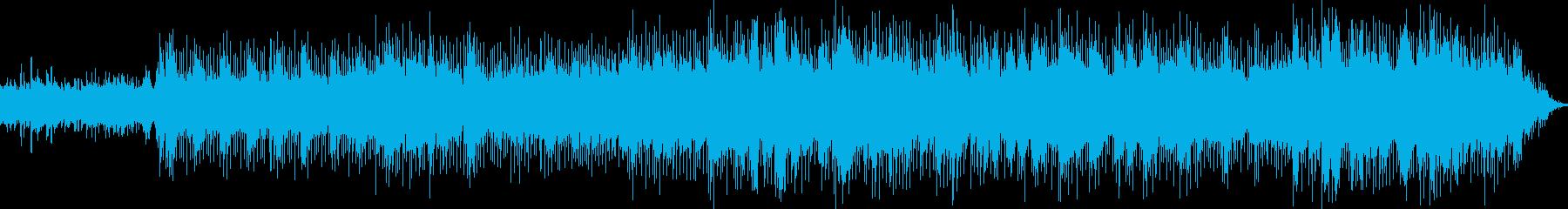 スローロック。エレクトリックピアノ...の再生済みの波形