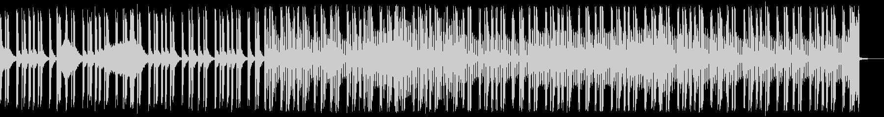 リズムレスの洒落た青いイメージのEDMの未再生の波形