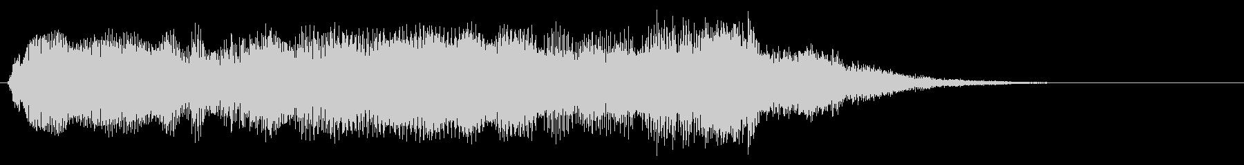 スムーズなシンセアクセント2の未再生の波形