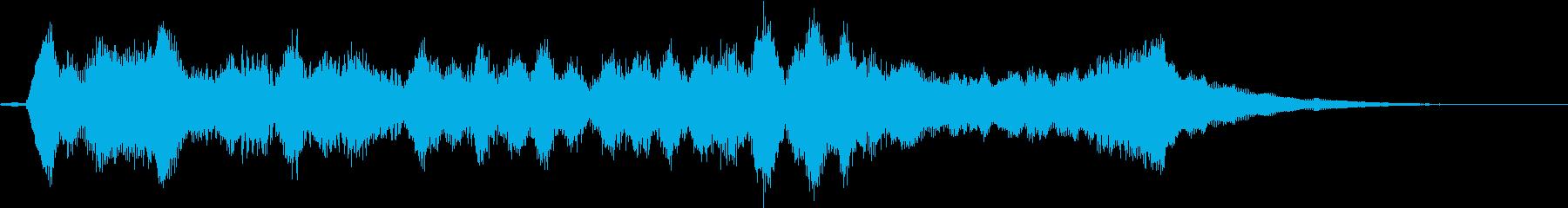 生演奏:美しく折り重なる弦楽四重奏の再生済みの波形