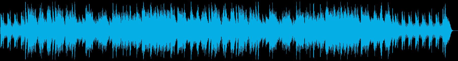 柔らかくあたたかいオルゴールバラードの再生済みの波形