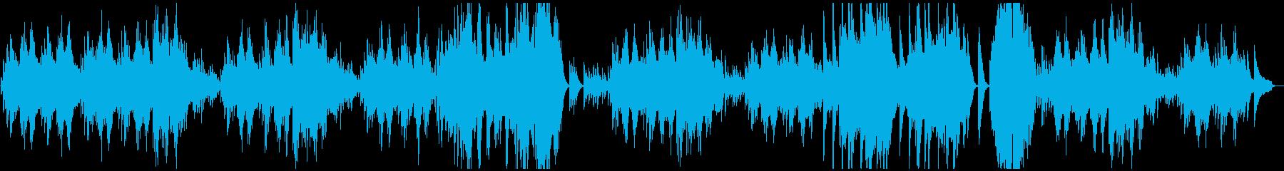ベートーヴェン エリーゼのために ピアノの再生済みの波形