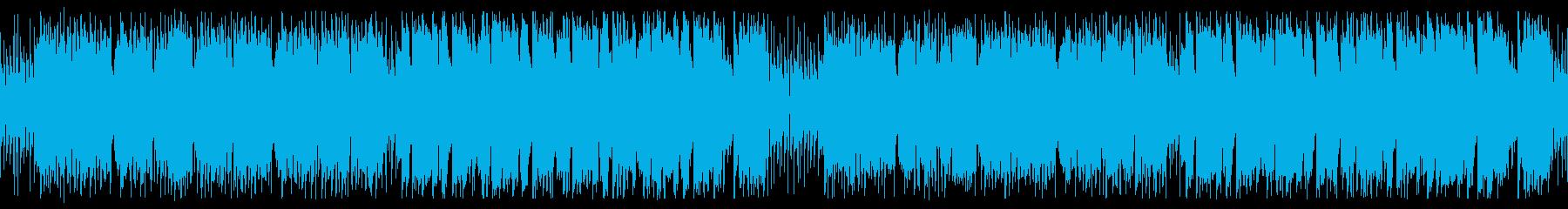 旅、山のイメージ_スローバージョンの再生済みの波形
