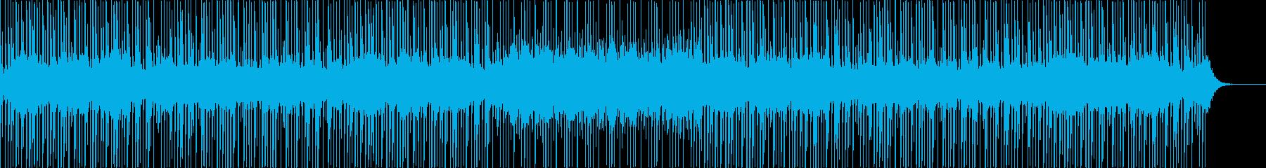三味線と琴の日本風・和風テクノポップの再生済みの波形