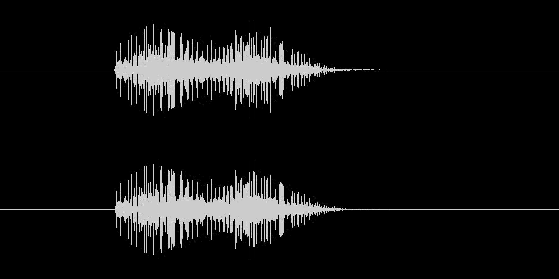 【猫 合成01-4】の未再生の波形
