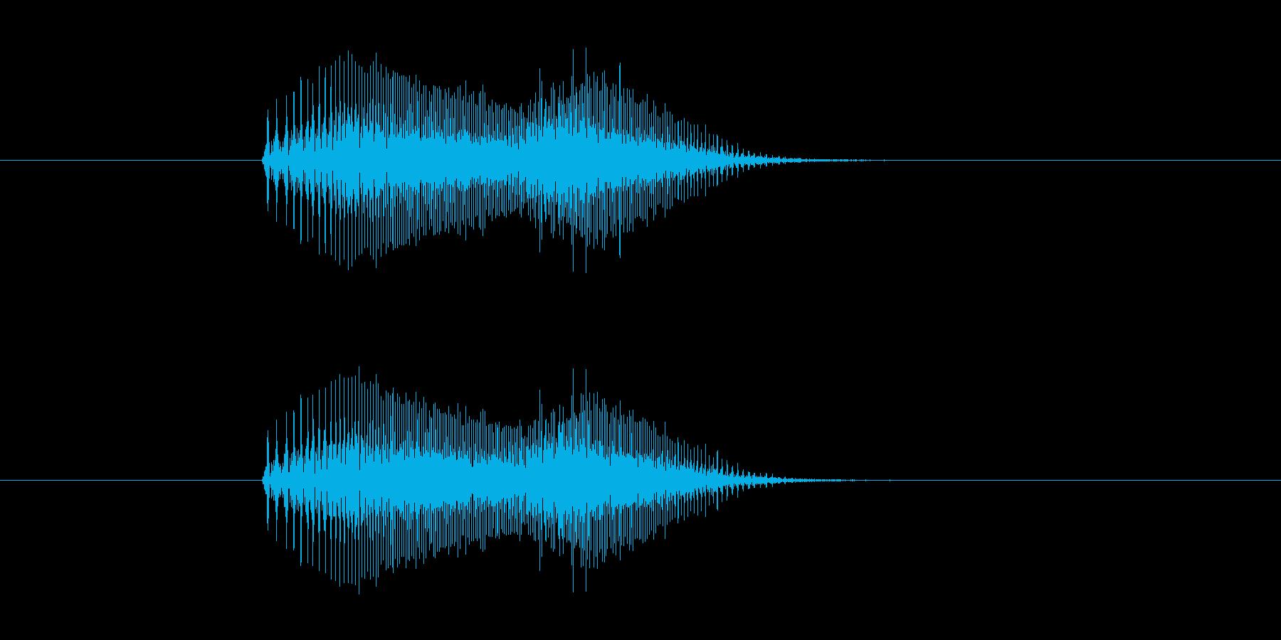 【猫 合成01-4】の再生済みの波形