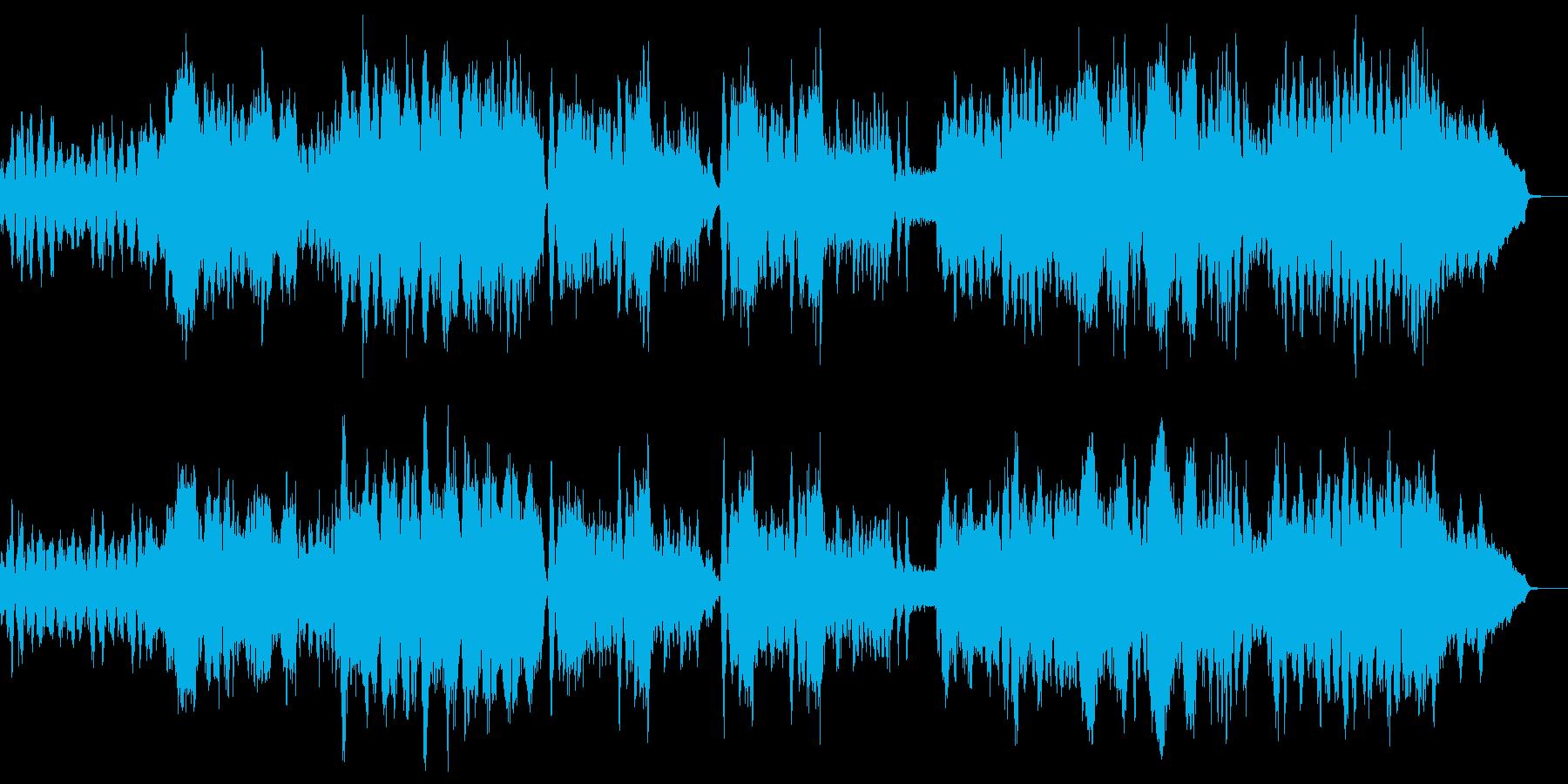チャイコフスキー四季 11月 トロイカの再生済みの波形