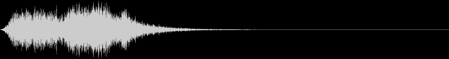 【ホラー】SFX_30 絶望の声の未再生の波形