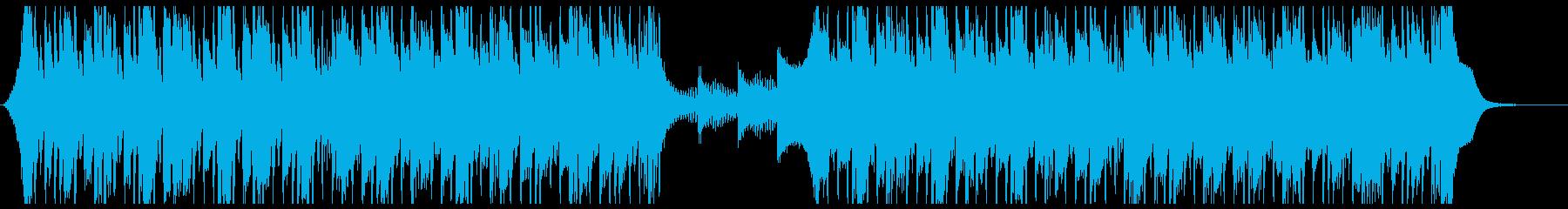 洋楽、クール、CM、カッコイイの再生済みの波形