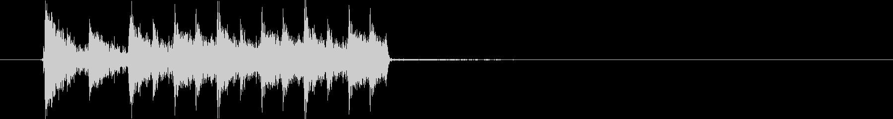 宇宙系テクノ音短め(シリアス、ダンス)の未再生の波形
