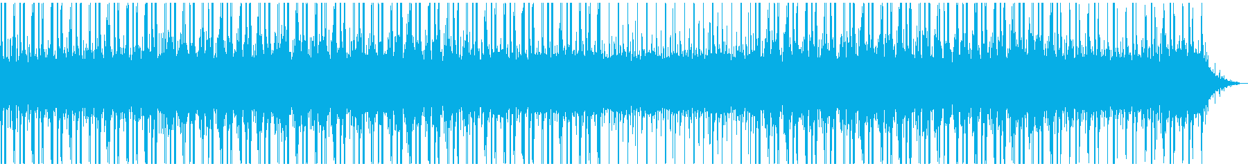 夜空・星・深夜ラジオなどに ローファイ曲の再生済みの波形