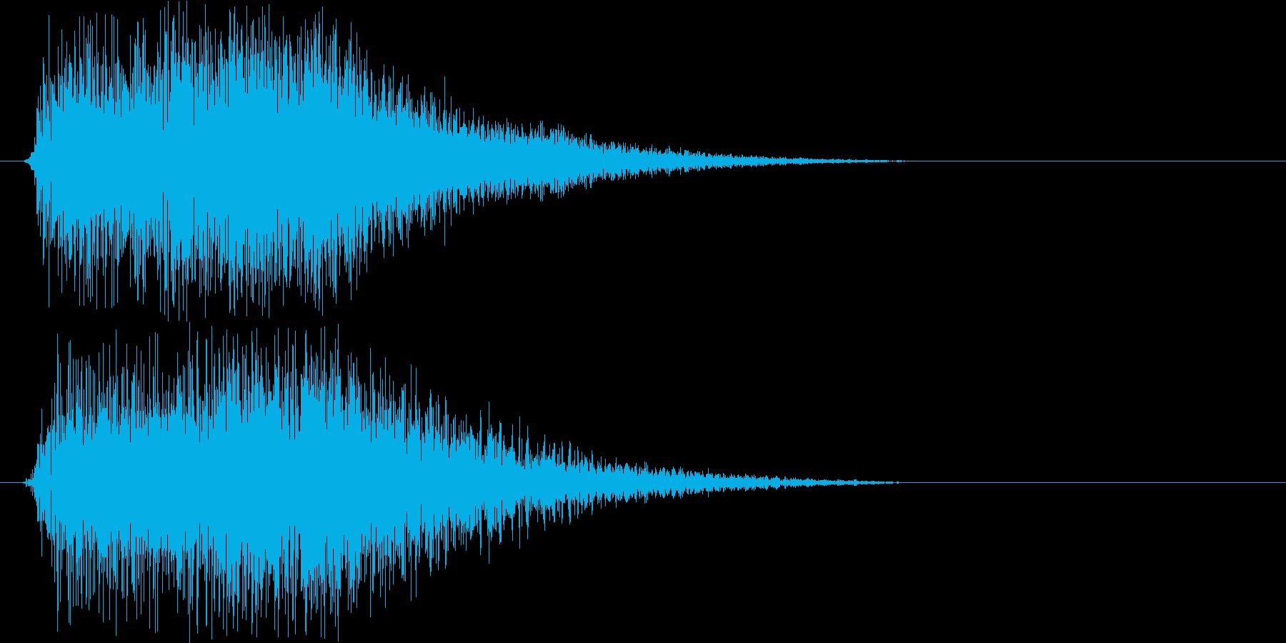 ズンチャン!!!(ホーン系)の再生済みの波形