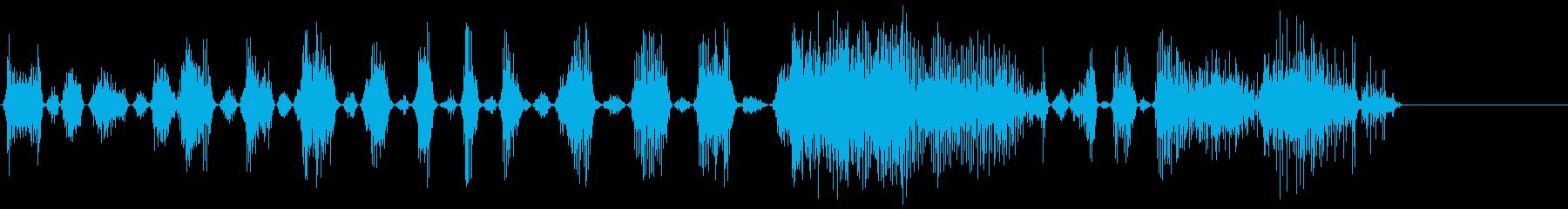 モンスターアングリー3の再生済みの波形
