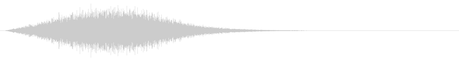Sound of chanting or activating magic # 8's unreproduced waveform
