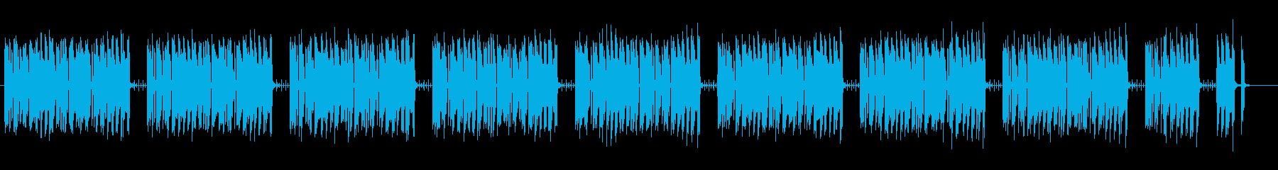 コミカルでエレクトロなゲームBGMの再生済みの波形