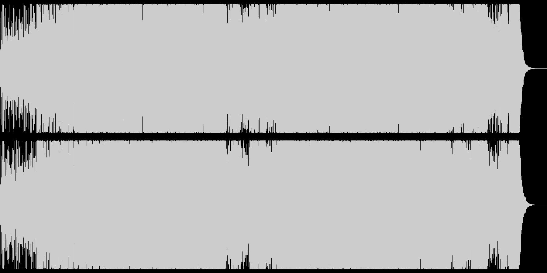 切なく透明感の強いプログレッシブハウス。の未再生の波形