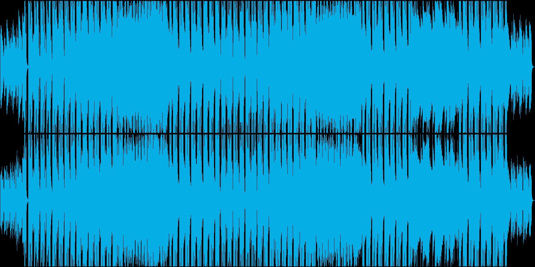 フューチャーポップ.オリエンタル風の再生済みの波形