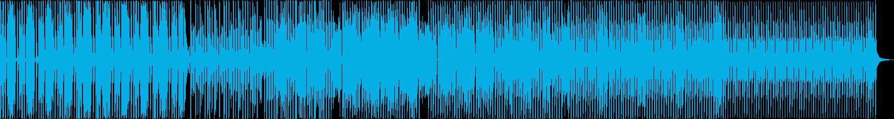 ハウス。クラシックとループ、曲のピ...の再生済みの波形