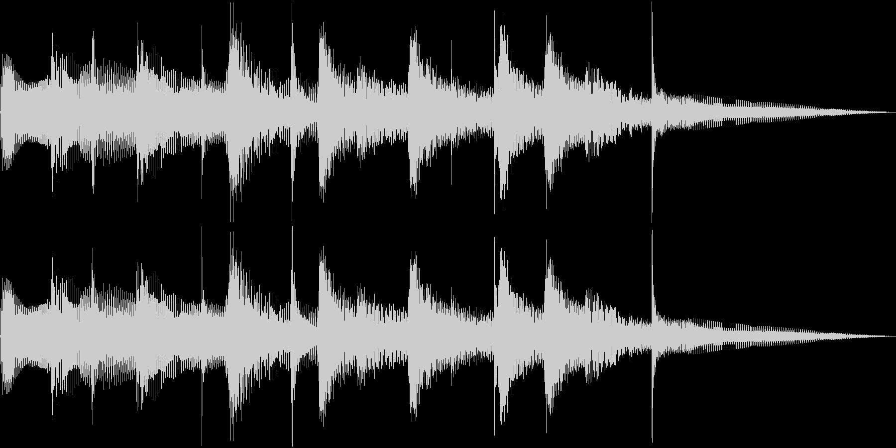 中近東系音源の未再生の波形