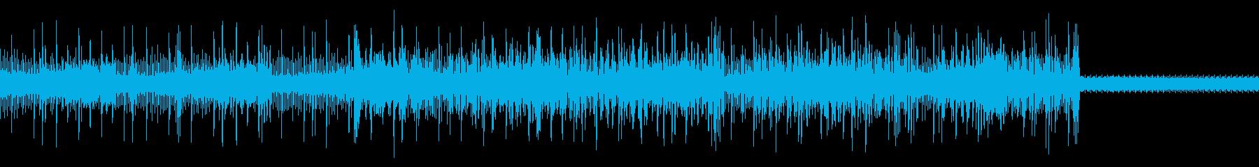 エレクトロニック サスペンス 繰り...の再生済みの波形