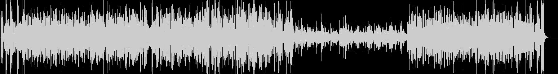 エルガー威風堂々 ビッグバンドジャズ版の未再生の波形
