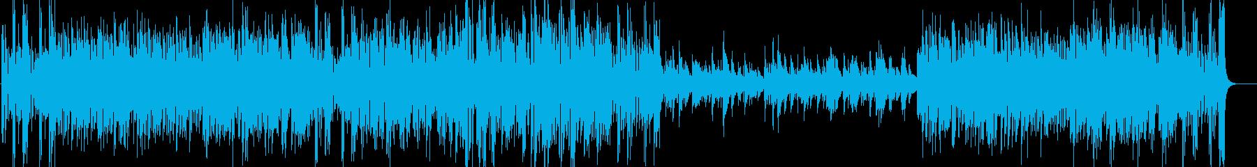 エルガー威風堂々 ビッグバンドジャズ版の再生済みの波形