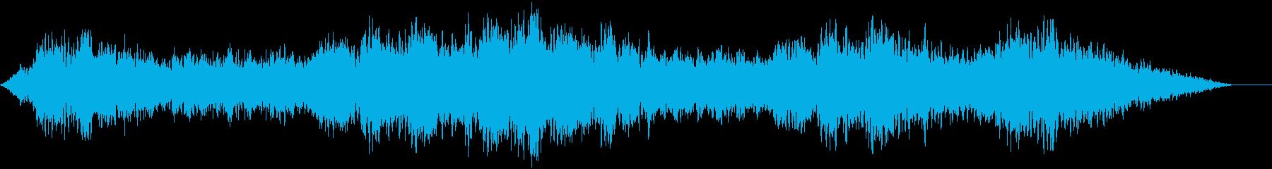 深みのある低音ボーカル背景、深みの...の再生済みの波形