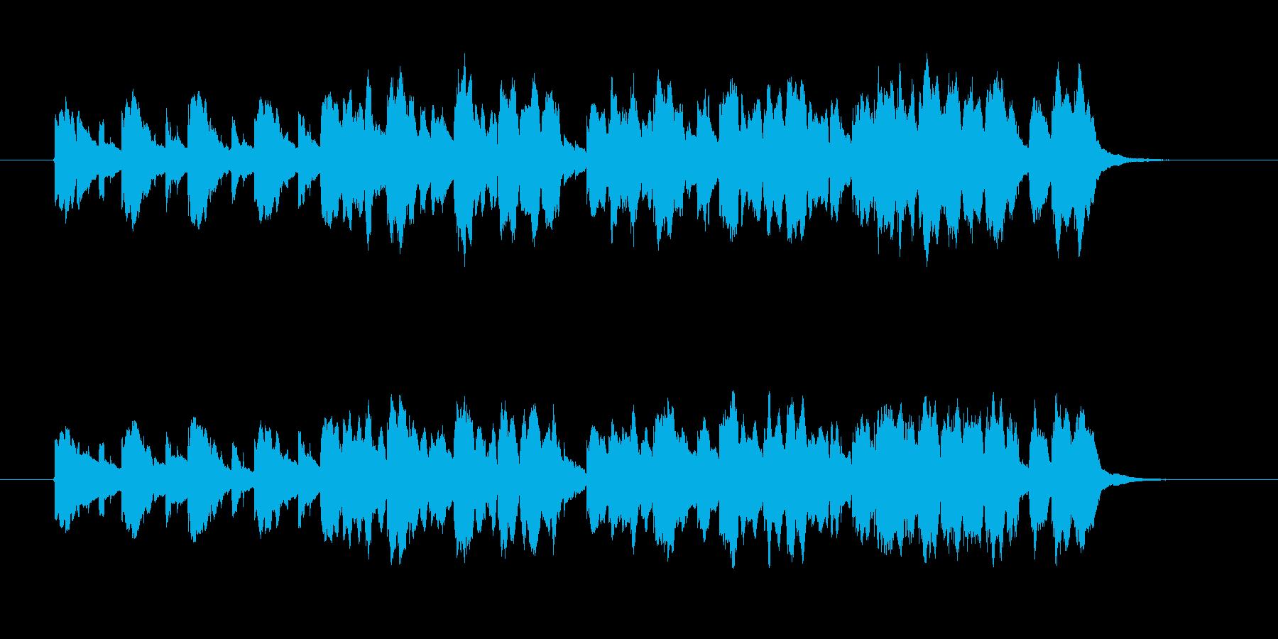 20秒かわいいイメージbタイプの再生済みの波形