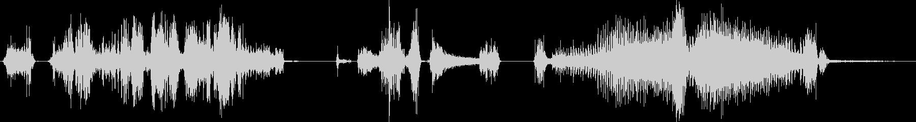 ドリル、電気、ハンドヘルド、穴あけ...の未再生の波形