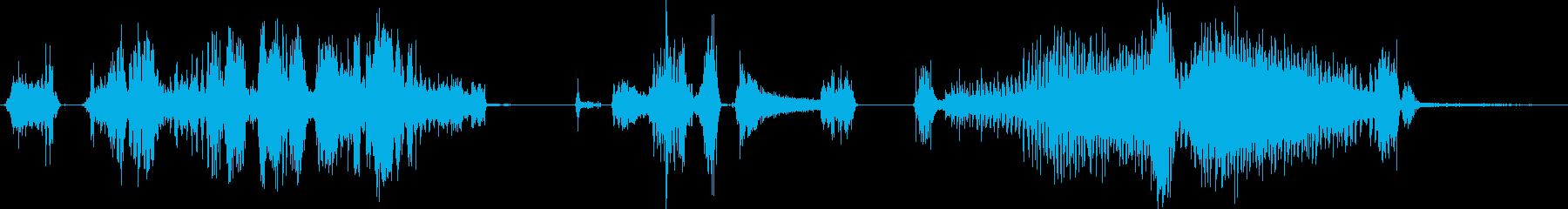 ドリル、電気、ハンドヘルド、穴あけ...の再生済みの波形