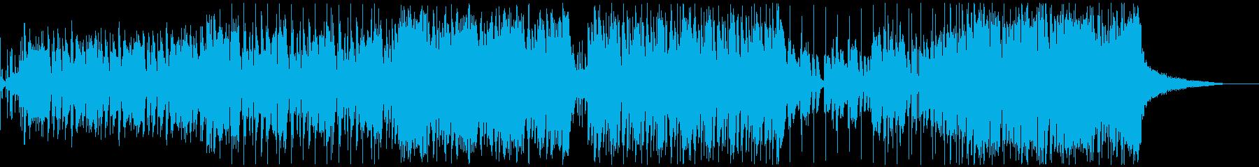 EDM・トロピカルハウス アコギ収録の再生済みの波形