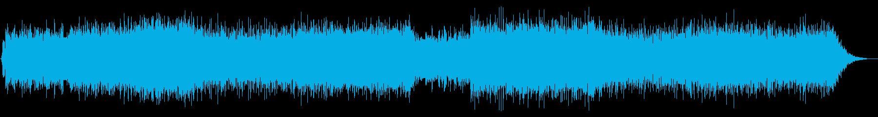 ピアノメインのミドルテンポバラードの再生済みの波形