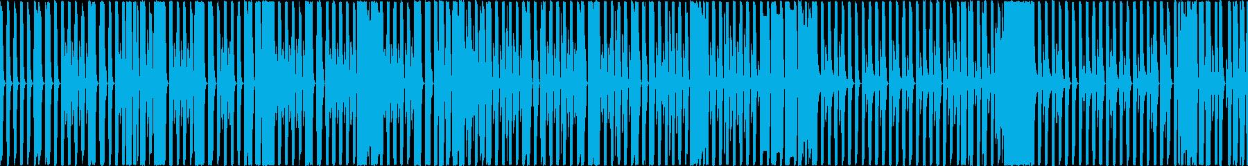 ループできる軽快なレトロチップチューンの再生済みの波形