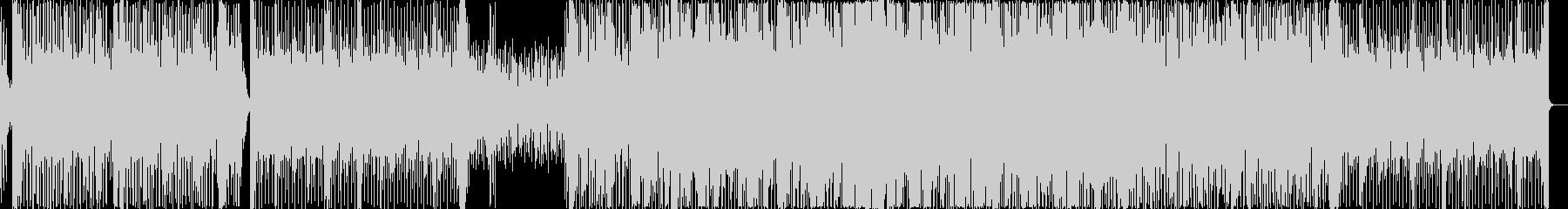 シンプルなEDM、プログレッシヴハウス。の未再生の波形