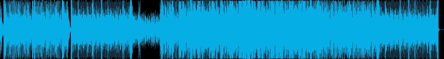 シンプルなEDM、プログレッシヴハウス。の再生済みの波形