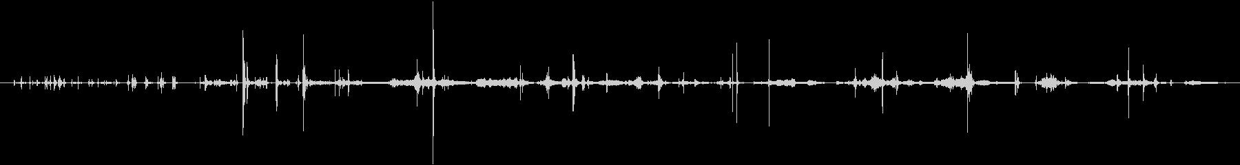 ラージハードカバーブック1:厚いペ...の未再生の波形