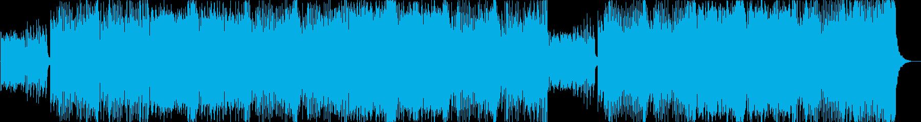キラキラしたエレクトリカルパレード風曲bの再生済みの波形